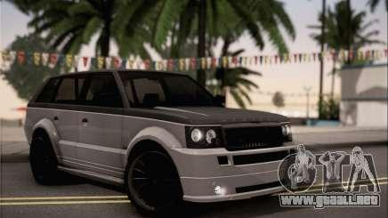 Vapid Huntley para GTA San Andreas