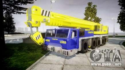 La grúa Campeón v2.0 para GTA 4