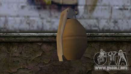 Grenade from GTA 5 para GTA San Andreas