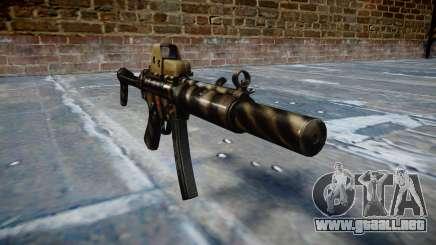 Pistola de MP5SD EOTHS FS c de destino para GTA 4