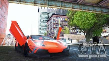 Lamborghini Aventador TZR R-Tech para GTA 4