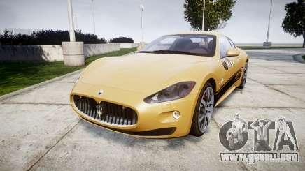 Maserati GranTurismo S 2010 PJ 1 para GTA 4