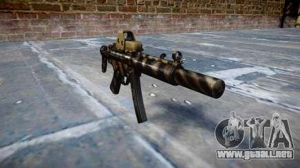 Pistola de MP5SD EOTHS CS c de destino para GTA 4