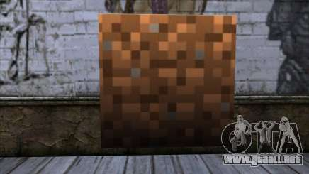 Bloque (Minecraft) v9 para GTA San Andreas