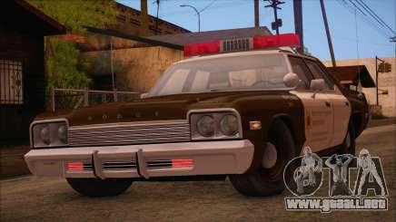 Dodge Monaco RCSD 1974 (HQLM) para GTA San Andreas