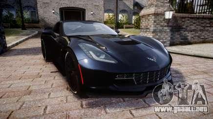Chevrolet Corvette Z06 2015 TireYA3 para GTA 4