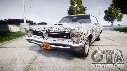 Pontiac GTO 1965 Sharpie para GTA 4