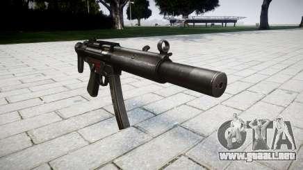 Pistola de MP5SD RO CS para GTA 4