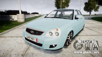 ВАЗ-Lada 2170 Priora Sapara para GTA 4