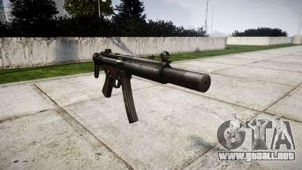 Alemán subametralladora HK MP5SD3 para GTA 4