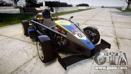 Ariel Atom V8 2010 [RIV] v1.1 Petrolos para GTA 4
