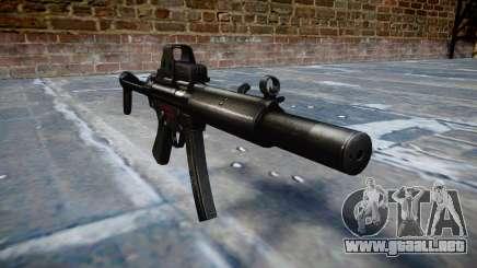 Pistola de MP5SD EOTHS FS b de destino para GTA 4