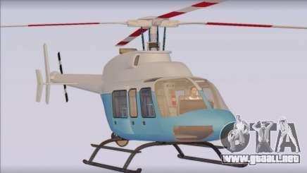 Bell 407 para GTA San Andreas