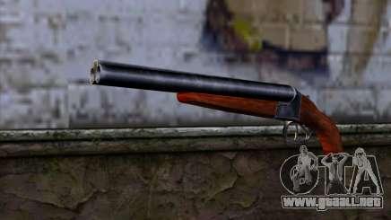 Sawnoff Shotgun para GTA San Andreas