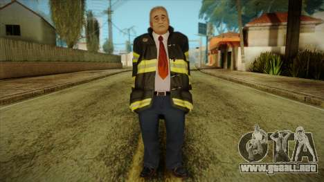 GTA 4 Emergency Ped 13 para GTA San Andreas