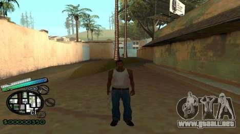 C-HUD New Style para GTA San Andreas segunda pantalla