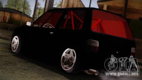 Perodua Kancil L2s v0.2 para GTA San Andreas left