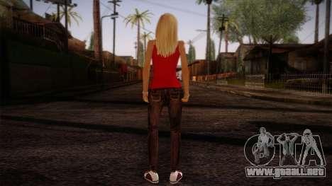 Gedimas Denise Skin HD para GTA San Andreas segunda pantalla
