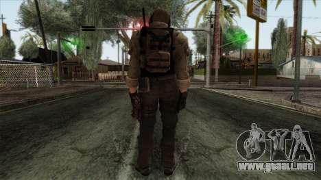 Modern Warfare 2 Skin 10 para GTA San Andreas segunda pantalla
