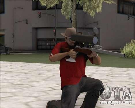 TF2 Sniper Rifle para GTA San Andreas segunda pantalla