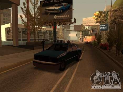 Beta Elegant para GTA San Andreas left