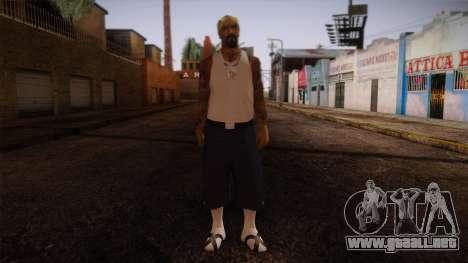 Fresno Buldogs 14 Skin 3 para GTA San Andreas