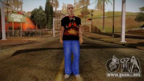 Phil Anselmo Skin para GTA San Andreas