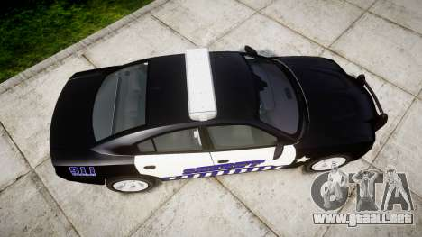 Dodge Charger RT 2014 Sheriff [ELS] para GTA 4 visión correcta