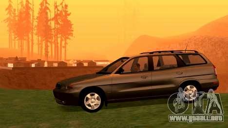 Daewoo Nubira me Vagón CDX NOSOTROS 1999 para la visión correcta GTA San Andreas