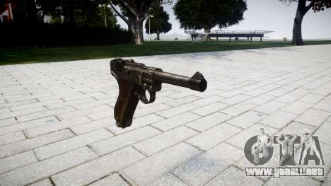 Pistola Luger P08 para GTA 4