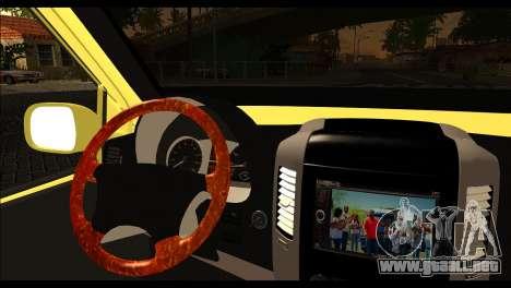 Volkswagen Transporter Panelvan para GTA San Andreas vista posterior izquierda