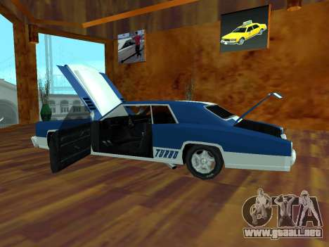 Buccaneer Turbo para la visión correcta GTA San Andreas