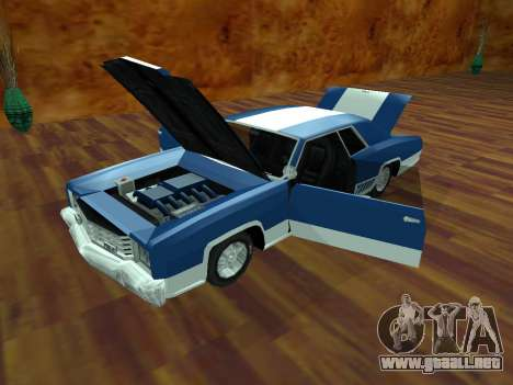 Buccaneer Turbo para GTA San Andreas vista posterior izquierda