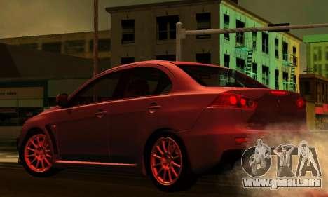 ENB Series para bajos PC 2.0 para GTA San Andreas sexta pantalla