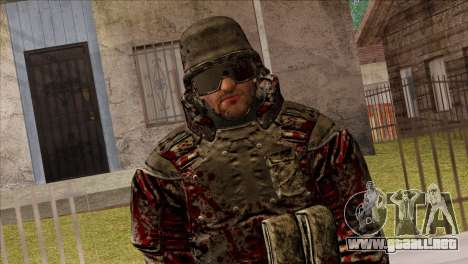 Outlast Skin 7 para GTA San Andreas tercera pantalla