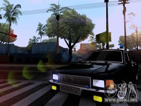 GAZ Volga 3102 para GTA San Andreas vista hacia atrás