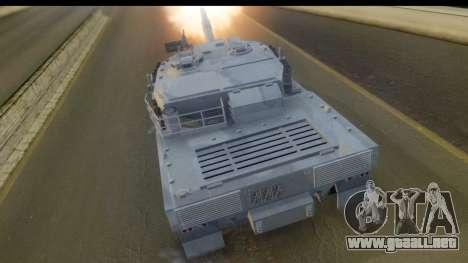 GTA V Rhino V2 para GTA San Andreas left