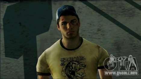 Left 4 Dead Survivor 6 para GTA San Andreas tercera pantalla