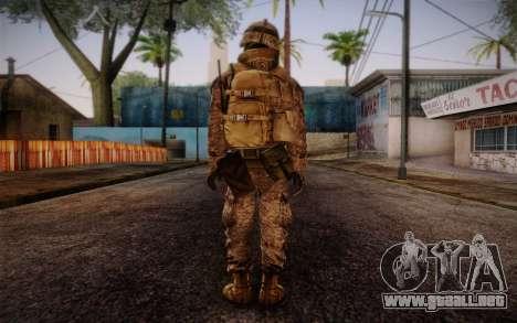 Blackburn from Battlefield 3 para GTA San Andreas segunda pantalla