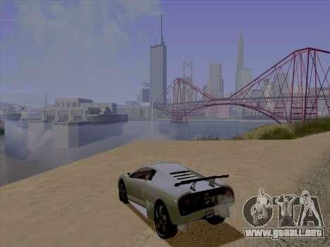 Jundo ENB Series para GTA San Andreas segunda pantalla