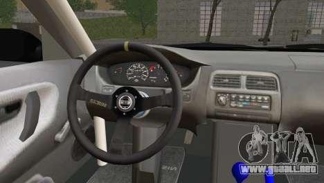 Nissan 180SX EasyStreet para GTA San Andreas vista posterior izquierda