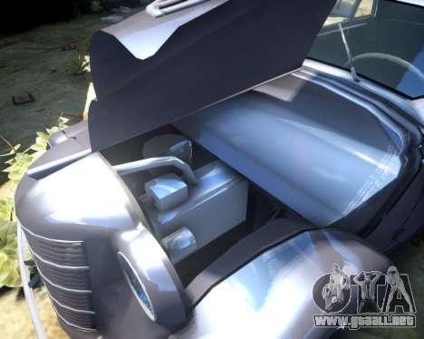 Moskvich 400 para GTA 4 vista interior