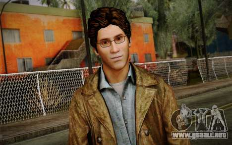 Harry Mason From SH: Shattered Memories para GTA San Andreas tercera pantalla
