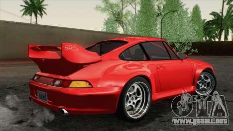 Porsche 911 GT2 (993) 1995 [HQLM] para GTA San Andreas left