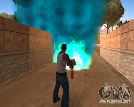 Freaky efectos para GTA San Andreas