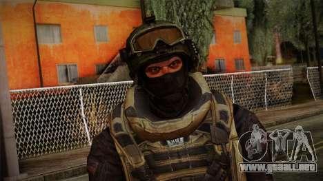 Modern Warfare 2 Skin 4 para GTA San Andreas tercera pantalla