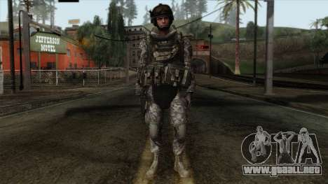 Modern Warfare 2 Skin 7 para GTA San Andreas