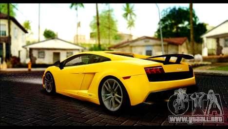 Lamborghini Gallardo LP 570-4 para GTA San Andreas left