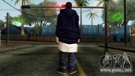 GTA 4 Skin 3 para GTA San Andreas segunda pantalla