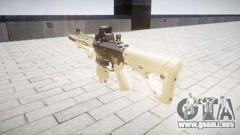Rifle AR-15 CQB typeeotech para GTA 4 segundos de pantalla